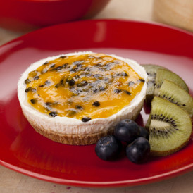 Creamy Passionfruit Cheesecake