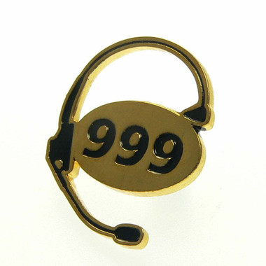 999 UK Emergency Dispatcher Lapel Pin