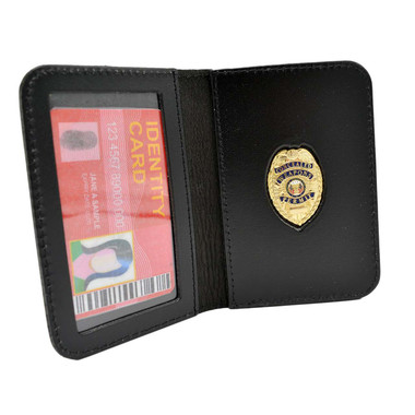 Concealed Weapons Permit Mini Badge ID Wallet