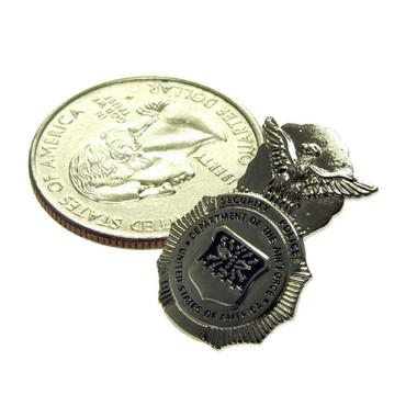 U S Air Force Security Police Mini Badge Pin