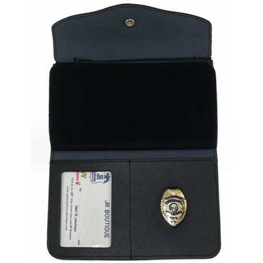 Ladies All in One Badge and ID Wallet With Mini Badge