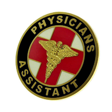 Physicians Assistant Medical Lapel Pin
