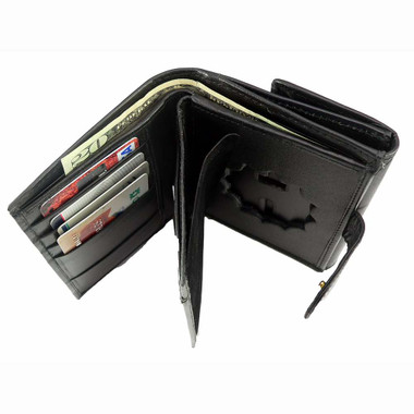 NY Dept of Corrections Womens Leather Badge Wallet