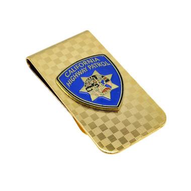 California Highway Patrol Patch Money Clip