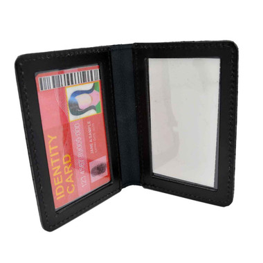 Perfect Fit Double ID Duty Leather ID License Case