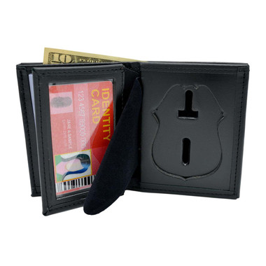 NYPD Sergeant Police Badge Wallet Leather Perfect Fit 104