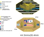Eagle Pass Honor Guard Challenge Coin