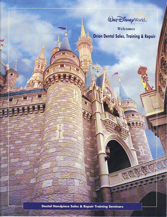 Learn Dental Handpiece Repair at Disney