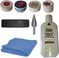 "Steel 2"" x 1"" Wheel Polishing Kit - Drill Mounted Buffing Kit"