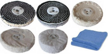 100mm 4 inch x 1 Section Polishing Wheel Kit 5