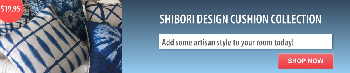 Shibori Cushion Covers Quickfit Curtains