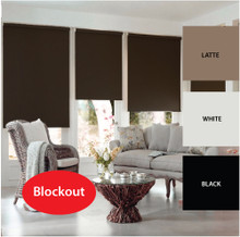 AIKEN 60cm Premium Blockout Roller Blinds TWIN 2 PACK