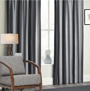 Buy Extra Long Curtains Stripe Eyelet Curtains