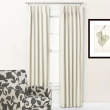 Brighton Pinch Pleat Curtains 1 Pass Coated | Designer Pick