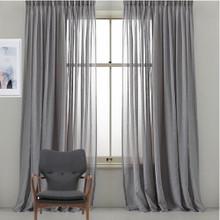 Bristol Sheer Custom Made Curtains GREY | Designer Pick