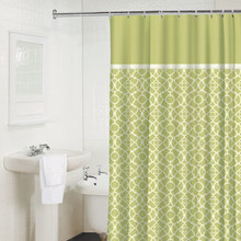 LATTICE APPLE Shower Curtain