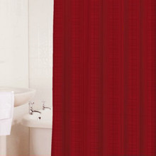 SICILLY SCARLET Shower Curtain