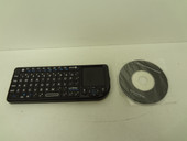 Ultra Bluetooth Mini Keyboard with Touchpad U12-41310 Works with Any Bluetooth