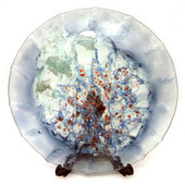 Legacy Handmade Glass Arts - Embeded Natural Colors - Antique  Decor - 143p