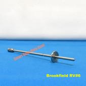 Brookfield RV/HA/HB Viscometer Spindle # 6