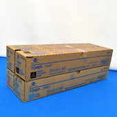 Konica Minolta Dimitri HD 4C CMYK Set TN321K TN321Y TN321M TN321C Toner