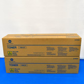Konica Minolta TN613Y A0TM230 Yellow Toner Cartridge BIZHUB C452/C552/C652