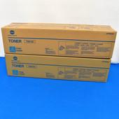 Konica Minolta TN613C A0TM430 CYAN Toner Cartridge BIZHUB C452/C552/C652