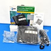 AT&T 944, 4-Line Business & Home Office Phone Intercom Transfer & Conference NEW