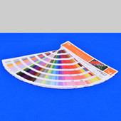 Pantone HP CMYK IndiChrome On-Press Color Guide simulating Color Matching Sys.
