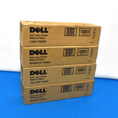 Dell T6412 M6935 P6731 K4971 CMYK 4/C Toner Set 3000CN 3100CN