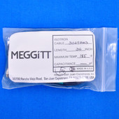 "Meggitt Endevco 3027AM3-36 Cable Assembly 36"" 185˚F low impedance piezoelectric accelerometers"