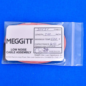 """Meggitt Endevco 3053V-240, 240"""" 500˚F Cap. 640 pF Low noise high impedance differential Cable Assembly"""