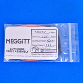 "Meggitt Endevco 3053V-120, 120"" 500˚F Cap. 297 pF Low noise high impedance differential Cable Assembly"