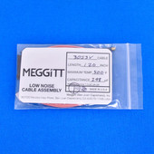 "Meggitt Endevco 3053V-120, 120"" 500˚F Cap. 298 pF Low noise high impedance differential Cable Assembly"