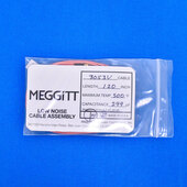 "Meggitt Endevco 3053V-120, 120"" 500˚F Cap. 299 pF Low noise high impedance differential Cable Assembly"