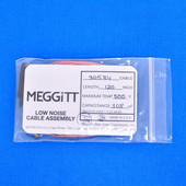 "Meggitt Endevco 3053V-120, 120"" 500˚F Cap. 308 pF Low noise high impedance differential Cable Assembly"