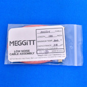 """Meggitt Endevco 3053V-120, 120"""" 500˚F Cap. 318 pF Low noise high impedance differential Cable Assembly"""