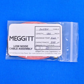 """Meggitt Endevco 3053V-120, 120"""" 500˚F Cap. 320 pF Low noise high impedance differential Cable Assembly"""