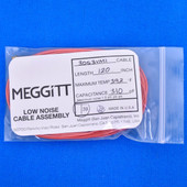 "Meggitt Endevco 3053VMI-120, 120"" 293˚F Cap. 310 pF Low noise high impedance differential Cable Assembly"