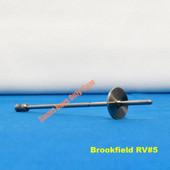 Brookfield RV/HA/HB Viscometer Spindle # 5 New