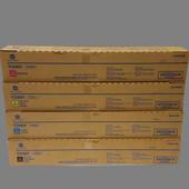 Konica Minolta TN619 4/C CMYK Toner Set TN619C TN619M TN619K TN619Y C1060 C1070s