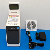 Brother TD‑2130NHC Direct Thermal Label Printer For Wristbands, Labels & Other Thermal Media