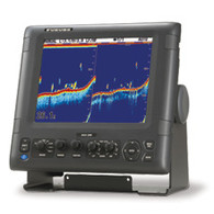 FURUNO  FCV 295 echo sounder digital colour sounder Front shot with bracket Shotgun Marine electrical and electronics Mid North Coast Australia