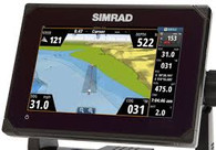 Simrad Go7 Angled Electronic Display