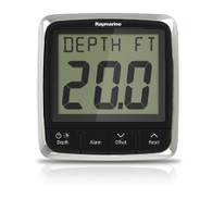 The answer for smaller Boats! Power, yachts and rigid inflatables Raymarine Depth Instrument i50