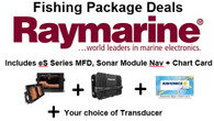 Raymarine es78 Fishing package deals to suit your fishing needs