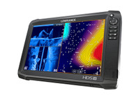 Lowrance  HDS-12 Carbon ROW Med/High/3D Bundle