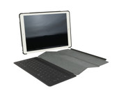 Rugged shock absorbing and impact protective shell integrates with Apple Smart Keyboard.  Keyboard not included.