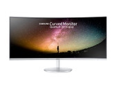 "Samsung 34"" F791 (21:9) Curved VA LED Display 3440x1440, Height Adjustable Stand, Speakers"