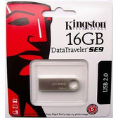 Kingston DataTraveler SE9 16GB USB2.0 Drive
